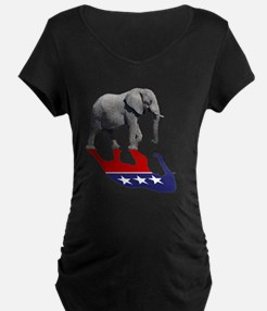 Republican Elephant Shadow T-Shirt
