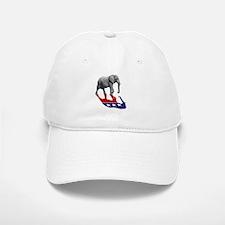Republican Elephant Shadow Baseball Baseball Cap