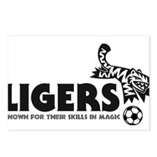 Ligers Postcards (Package of 8)
