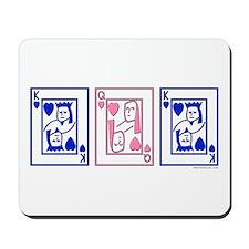 mfm (pink & blue) Mousepad