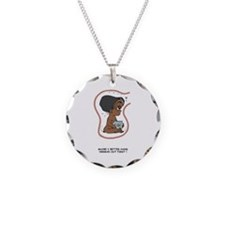 EGGBERT Herman First Black Necklace