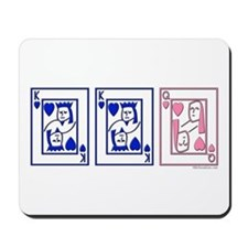 mmf (blue and pink) Mousepad