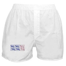 mmf (blue and pink) Boxer Shorts