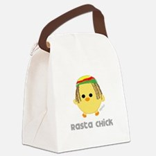 rastachick2.png Canvas Lunch Bag