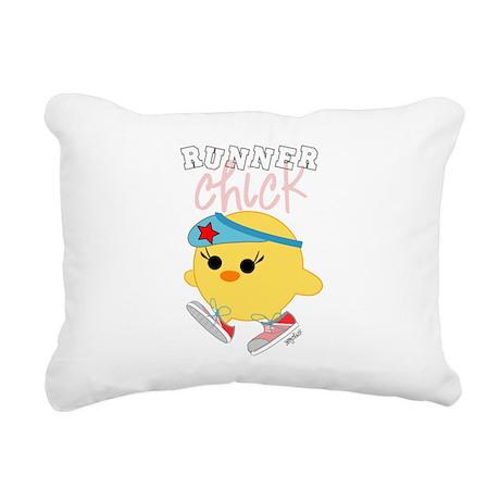 3-athleterun.png Rectangular Canvas Pillow