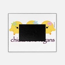 chickslovevegans.gif Picture Frame