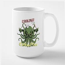 Cooking with Cthulhu Large Mug