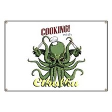 Cooking with Cthulhu Banner