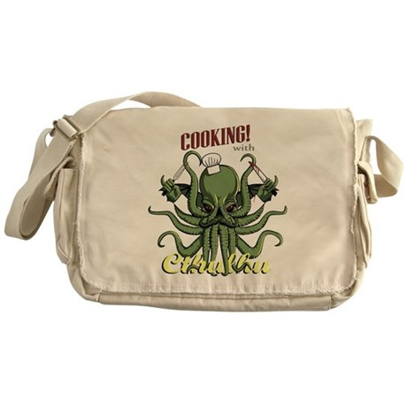 Cooking with Cthulhu Messenger Bag