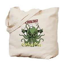 Cooking with Cthulhu Tote Bag