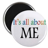 All about me Round Magnets
