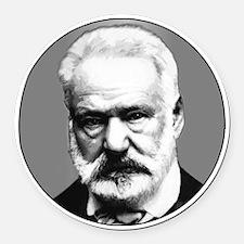 Victor Hugo Round Car Magnet