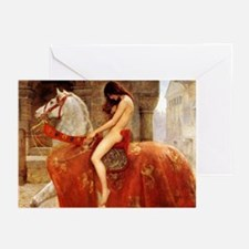 Lady Godiva Greeting Cards (Pk of 10)