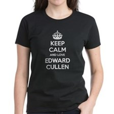 Keep calm and love Edward Cullen Tee