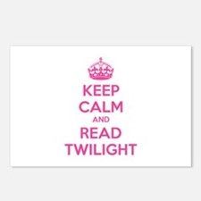Keep calm and read twilight Postcards (Package of