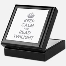 Keep calm and read twilight Keepsake Box