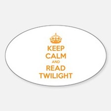 Keep calm and read twilight Decal