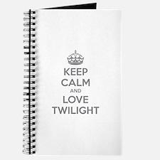 Keep calm and love twilight Journal