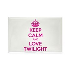 Keep calm and love twilight Rectangle Magnet