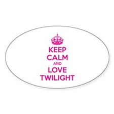 Keep calm and love twilight Decal