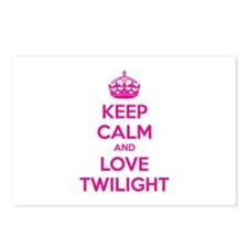 Keep calm and love twilight Postcards (Package of