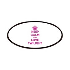 Keep calm and love twilight Patches