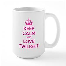 Keep calm and love twilight Mug