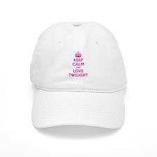 Keep calm and love twilight Baseball Cap