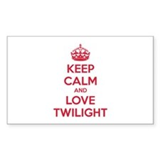 Keep calm and love twilight Decal