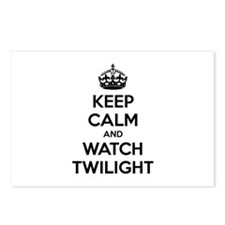 Keep calm and watch twilight Postcards (Package of