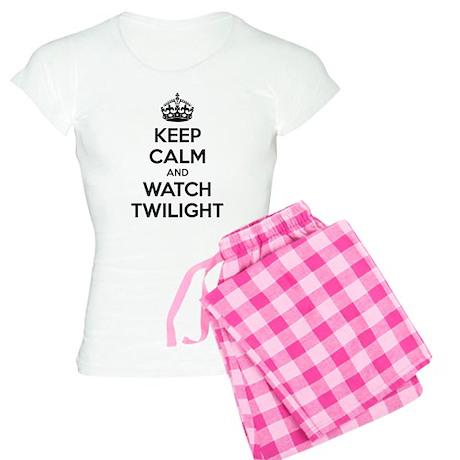 Keep calm and watch twilight Women's Light Pajamas