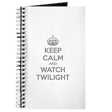 Keep calm and watch twilight Journal