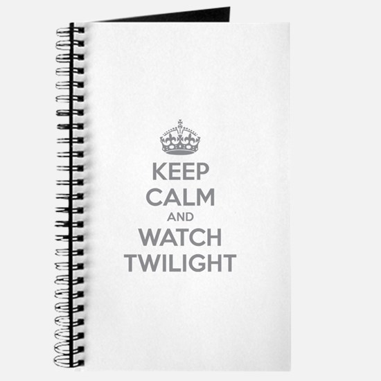 Keep calm and watch twilight Journal