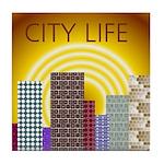 CITY LIFE Tile Coaster