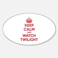 Keep calm and watch twilight Decal