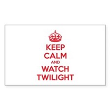 Keep calm and watch twilight Decal