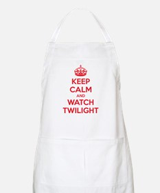 Keep calm and watch twilight Apron