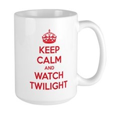 Keep calm and watch twilight Mug