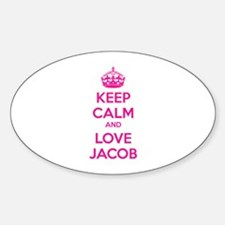 Keep calm and love Jacob Decal
