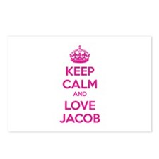 Keep calm and love Jacob Postcards (Package of 8)