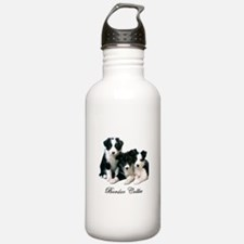 Border Collie Puppies Water Bottle