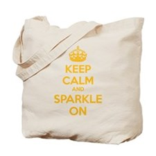 Keep calm and sparkle on Tote Bag