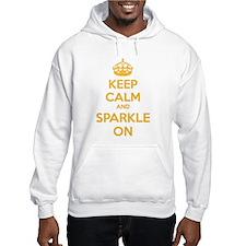 Keep calm and sparkle on Hoodie