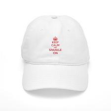 Keep calm and sparkle on Cap