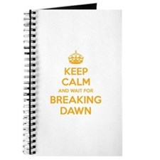 Keep calm and wait for breaking dawn Journal