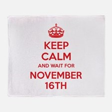 Keep calm and wait for november 16th Stadium Blan