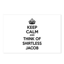 Keep calm and think of shirtless jacob Postcards (