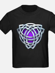 Naumadd's Silver Purple Triquetra T