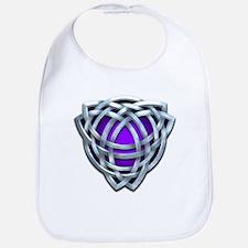 Naumadd's Silver Purple Triquetra Bib