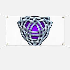 Naumadd's Silver Purple Triquetra Banner